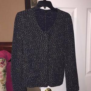 Zipped jacket by j crew sz S